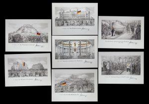 7-teiliges Set DIN A2 Deutsche Geschichte