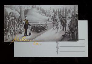 Postkarte 1813-1815 Theodor Körner und das Lützowsche Freikorps